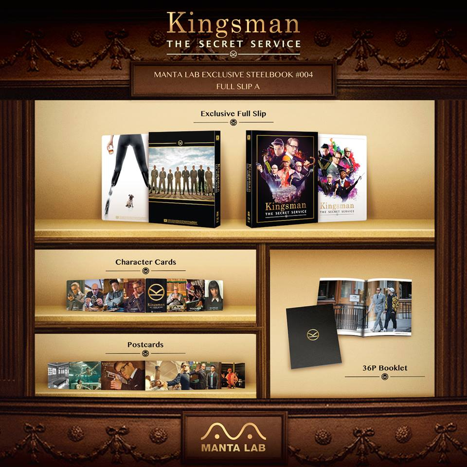 Kingsman mantalab steelbook 1