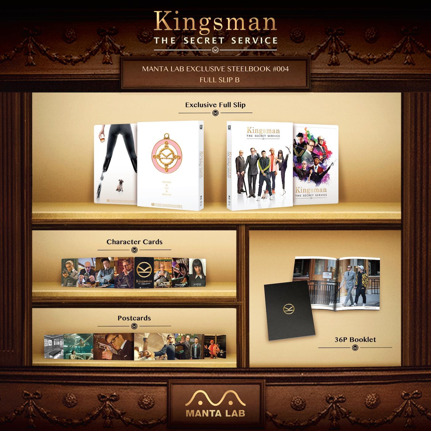 Kingsman mantalab steelbook 2