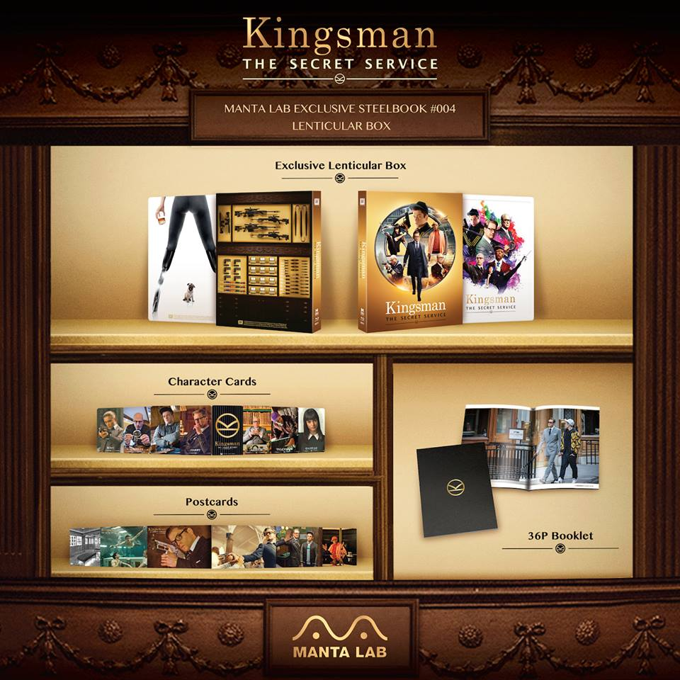 Kingsman mantalab steelbook 3
