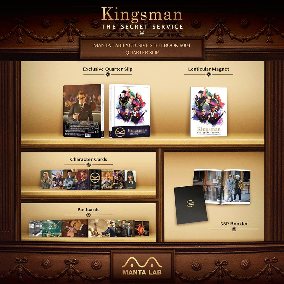Kingsman mantalab steelbook 4