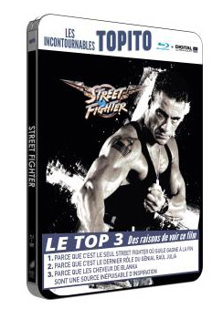 Street Fighter steelbook fr