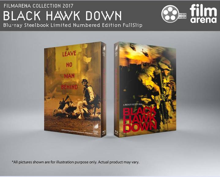 Black Hawk Down steelbook filmarena
