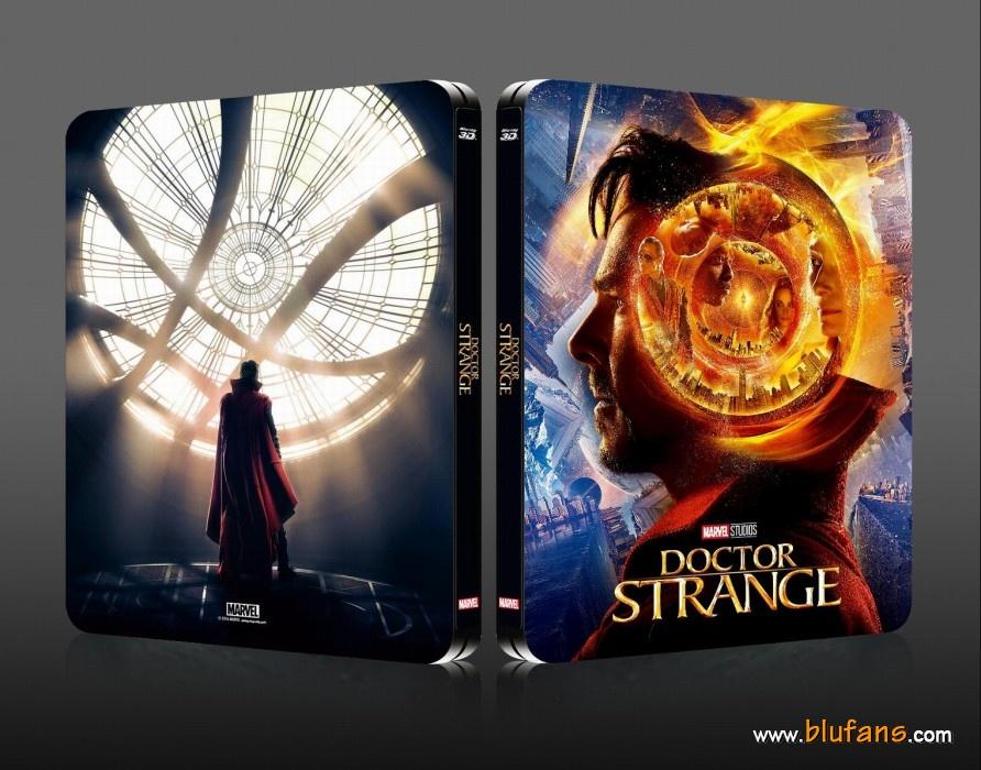 Doctor Strange steelbook blufans 1