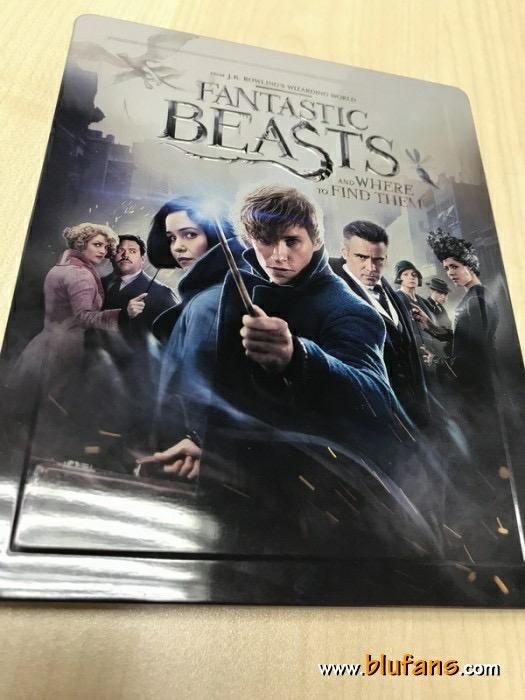 Fantastic Beasts steelbook blufans 3