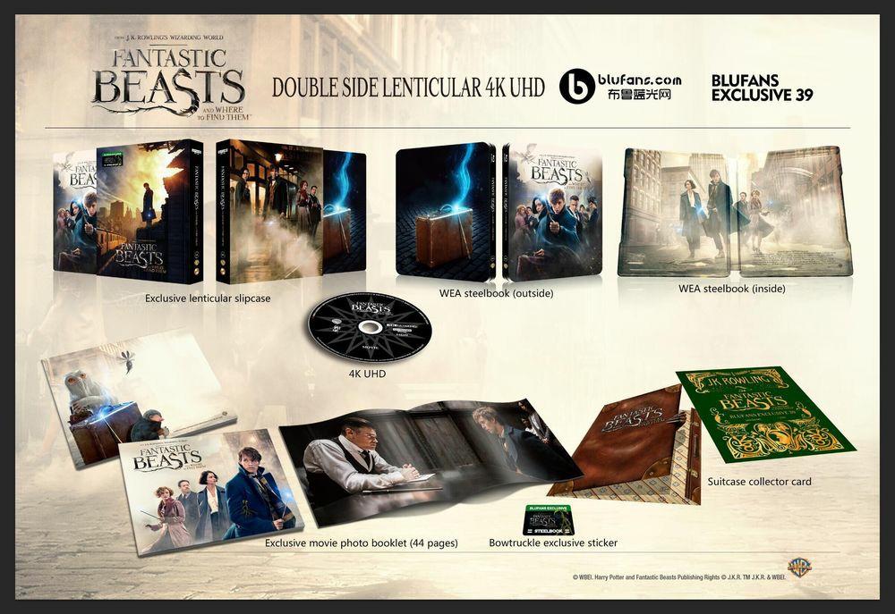 Fantastic Beasts steelbook blufans 4