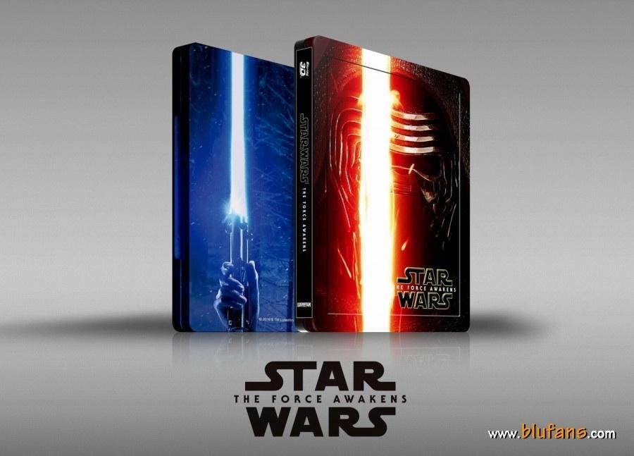 Star Wars The Force Awakens steelbook blufans 1