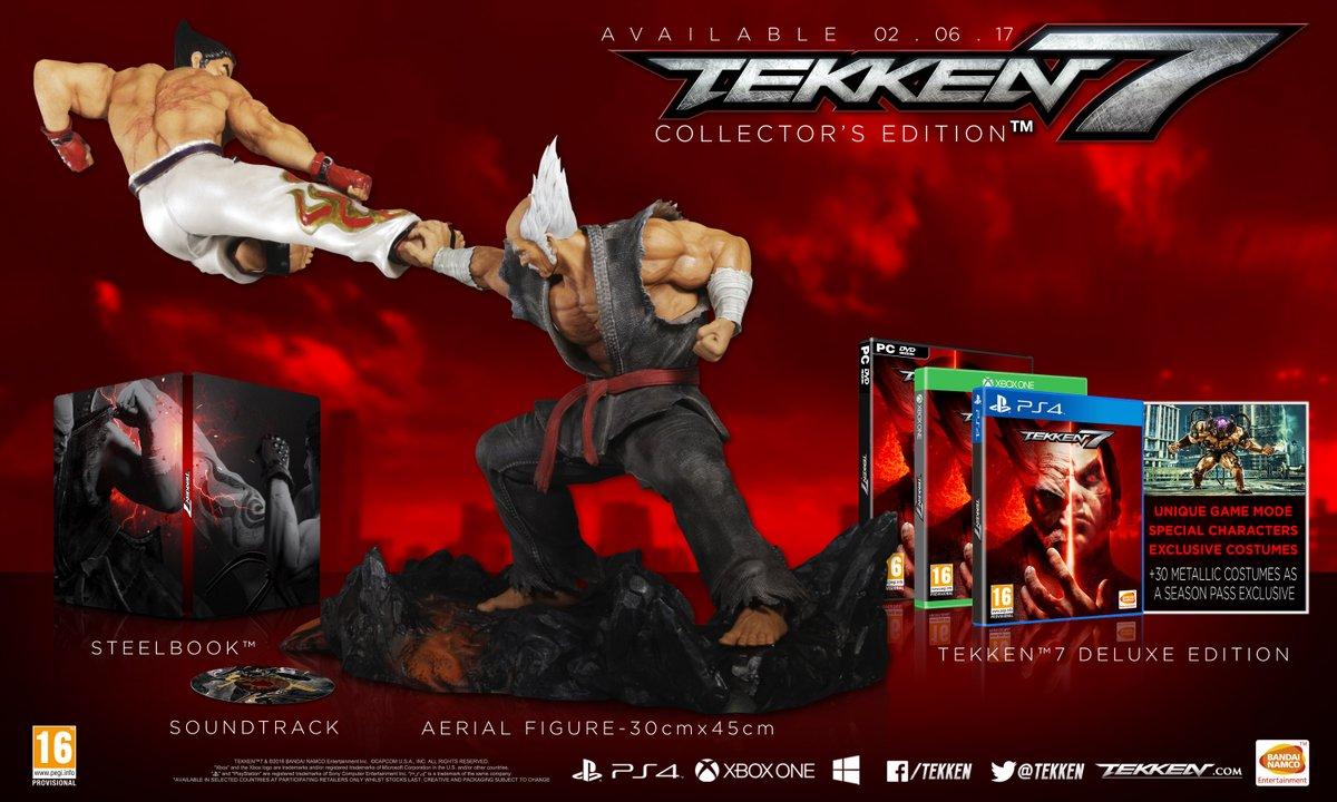 Tekken 7 collector steelbook