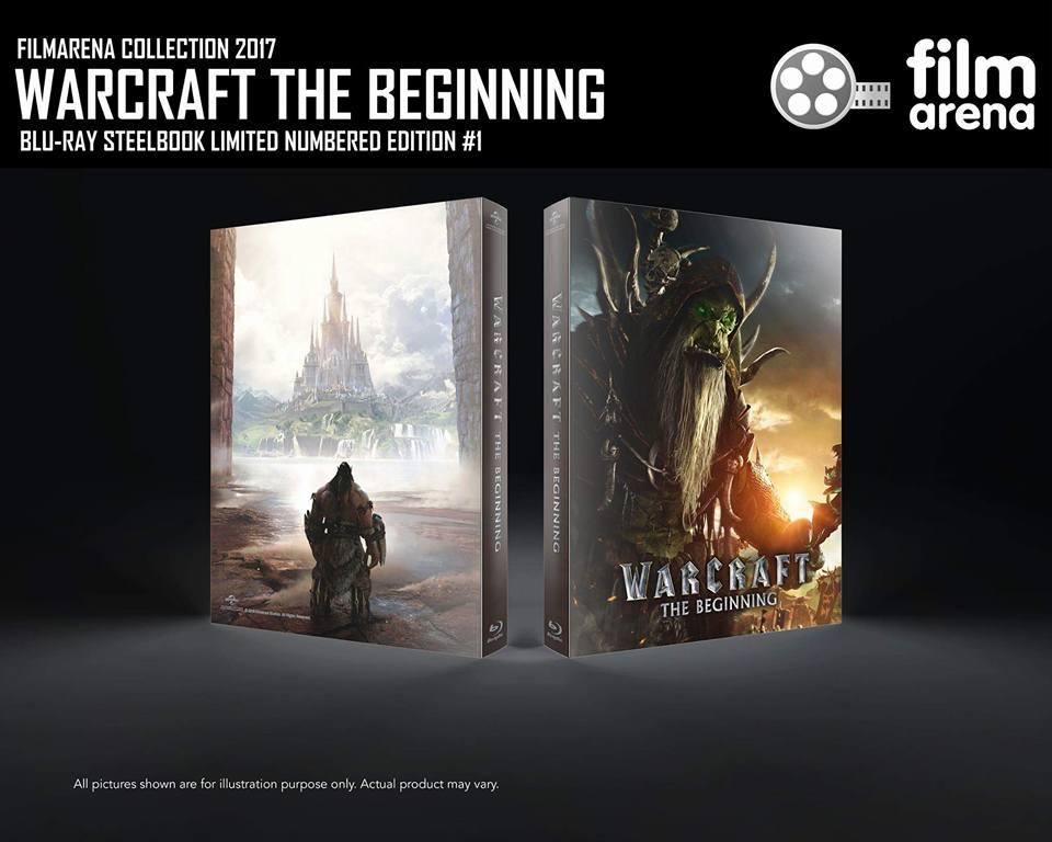 Warcraft begining steelbook filmarena