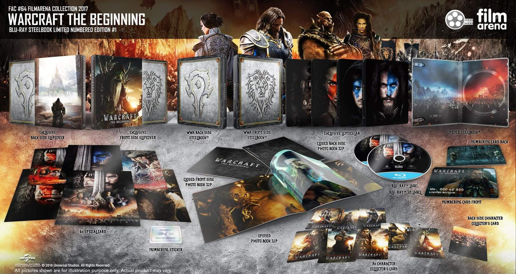 Warcraft steelbook filmarena 1