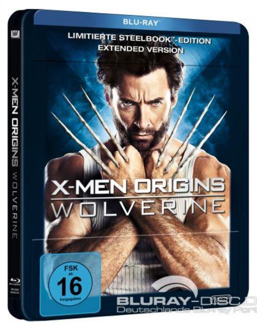 X- Men Origins Wolverine steelbook DE