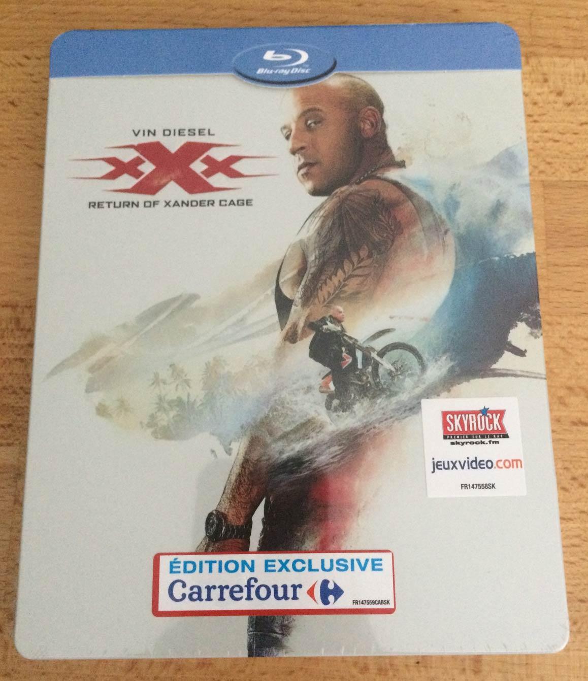 XXX Xander steelbook IT 1