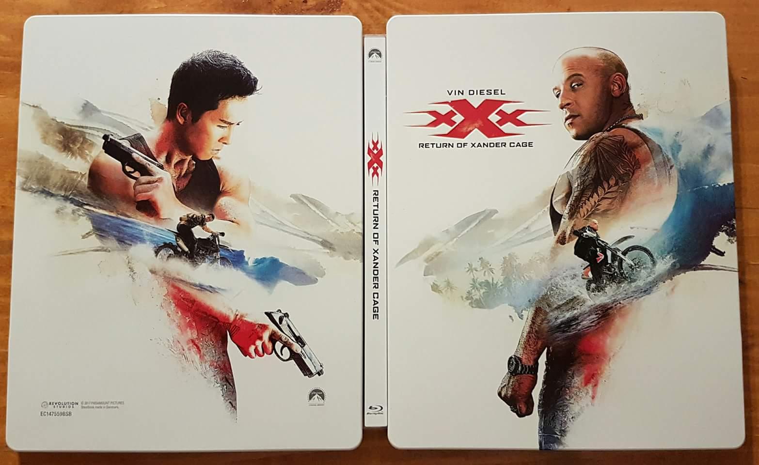 XXX Xander steelbook IT 3