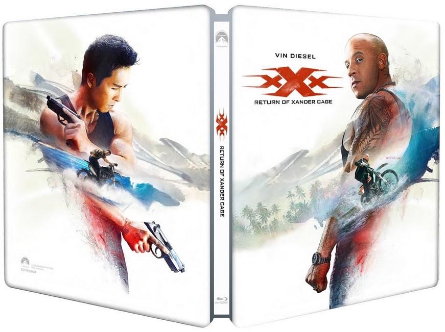 xXx Return of Xander steelbook 3