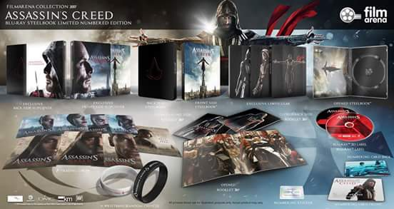 Assassin's Creed steelbook filmarena
