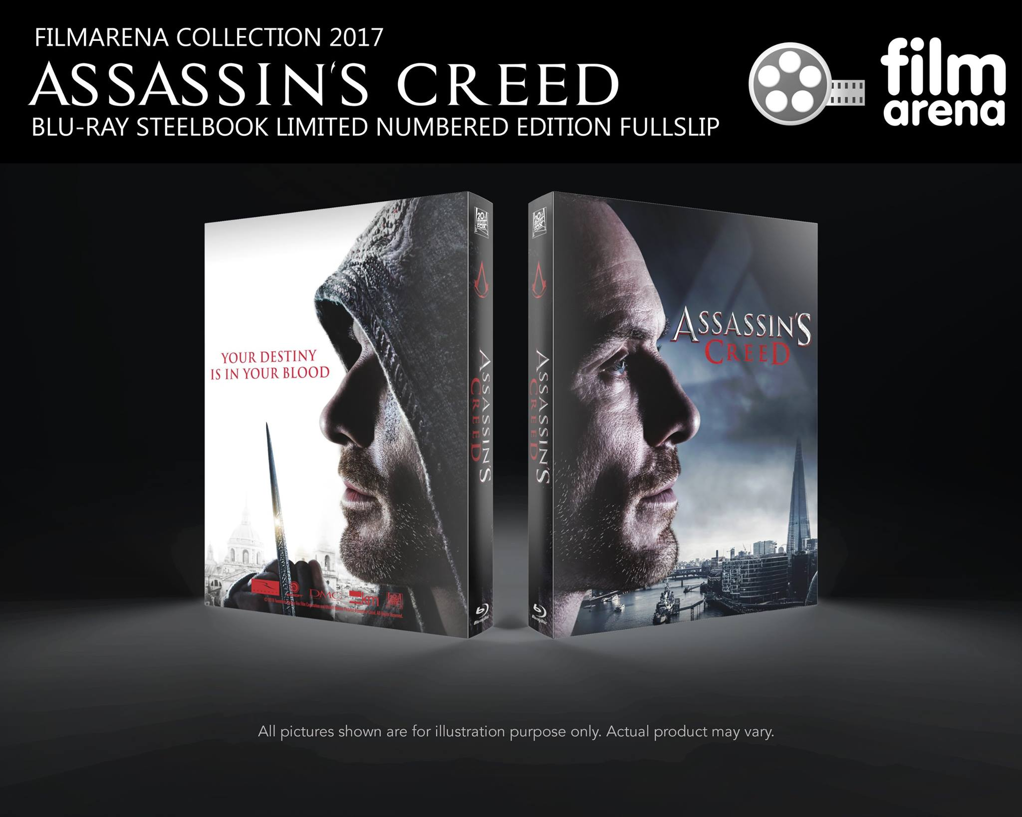 Assassin's Creed steelbook filmarena2