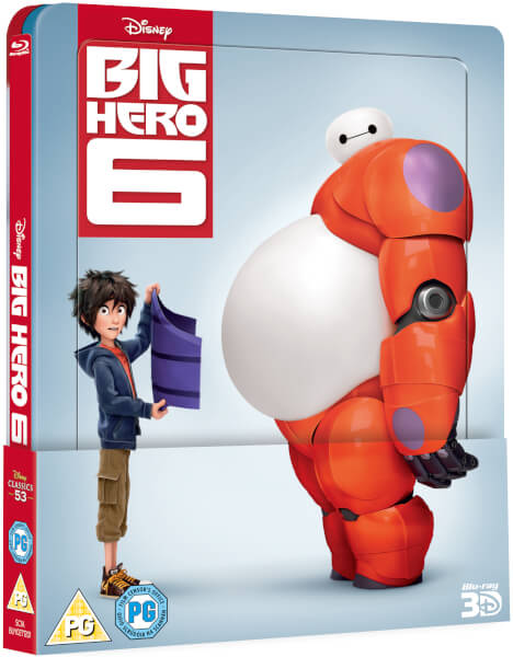 Big Hero 6 steelbook zavvi 1