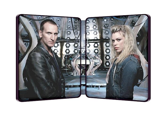 Doctor Who serie 1 steelbook 2