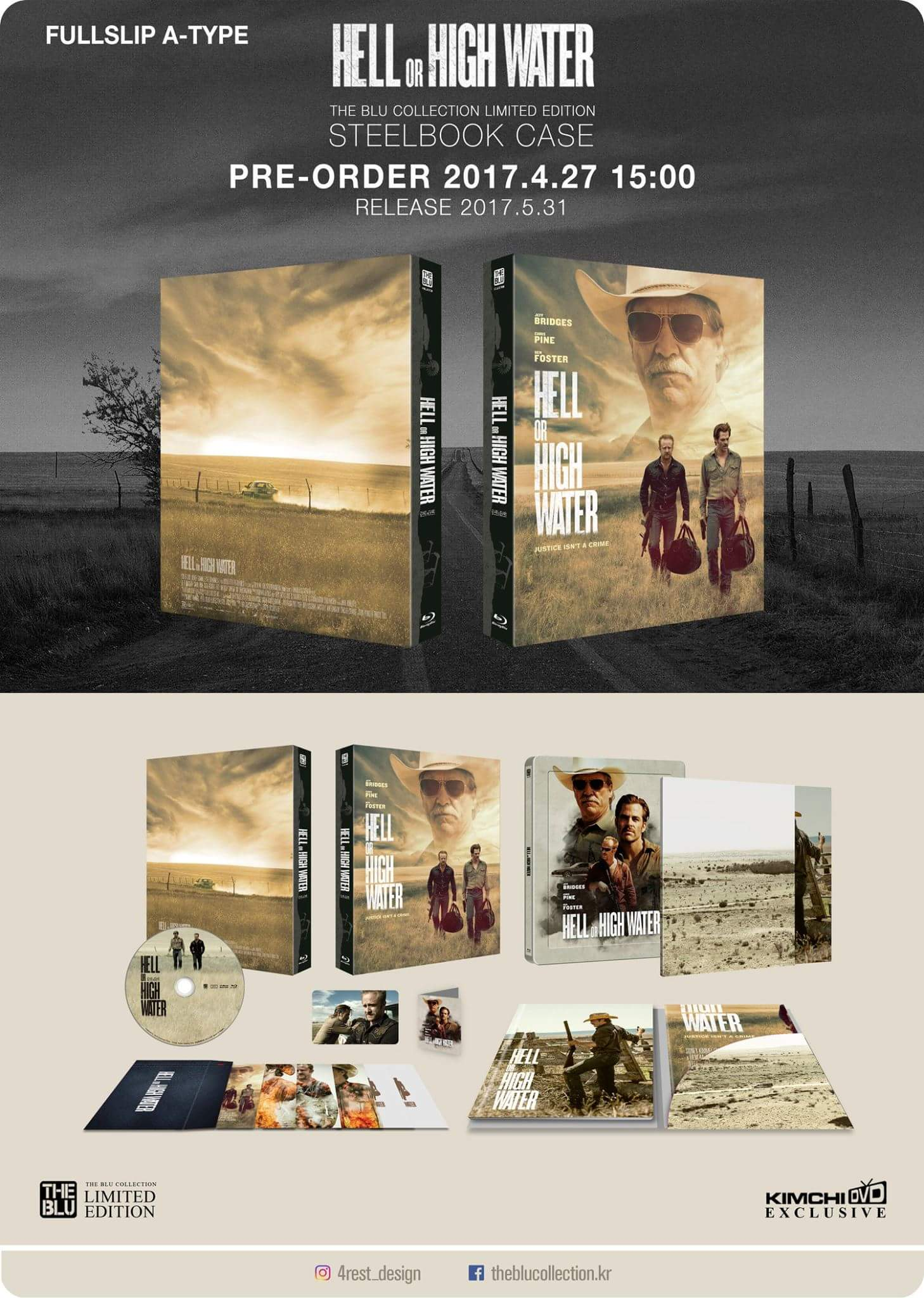 Hell or High Water steelbook 1