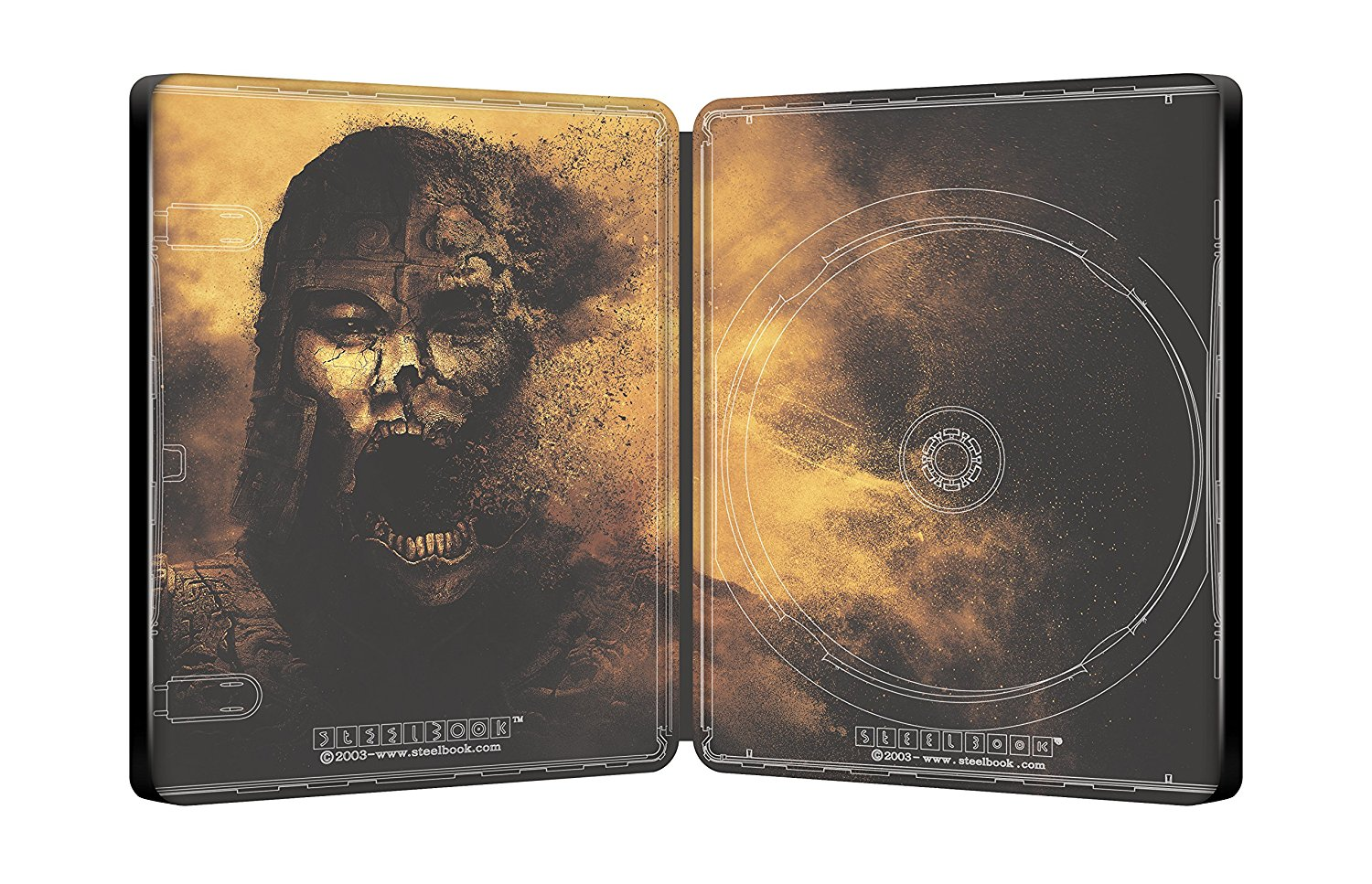 Mummy dragon steelbook 2