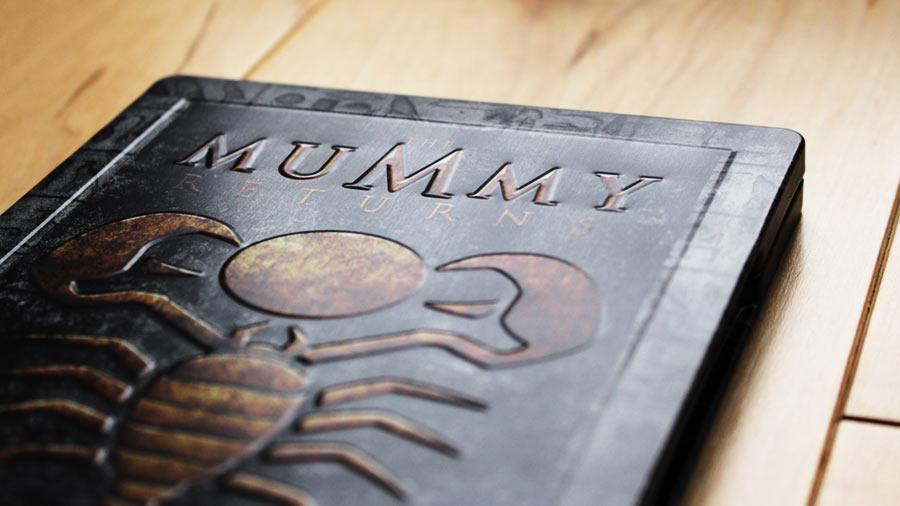 Mummy returns steelbook
