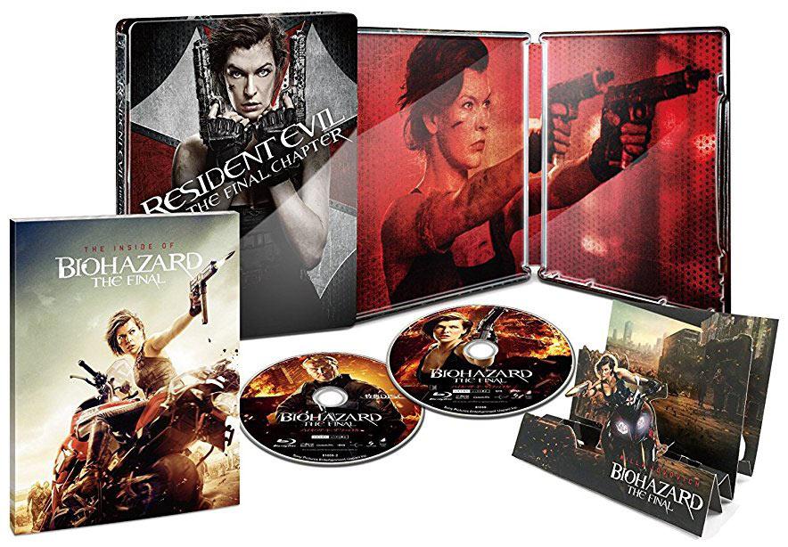 Resident-Evil-Final-Chapter Final steelbook jp