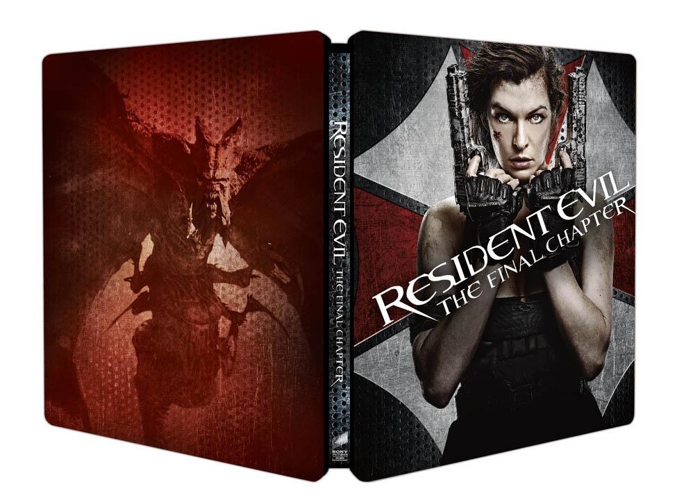 Resident Evil Final Chapter steelbook IT 4