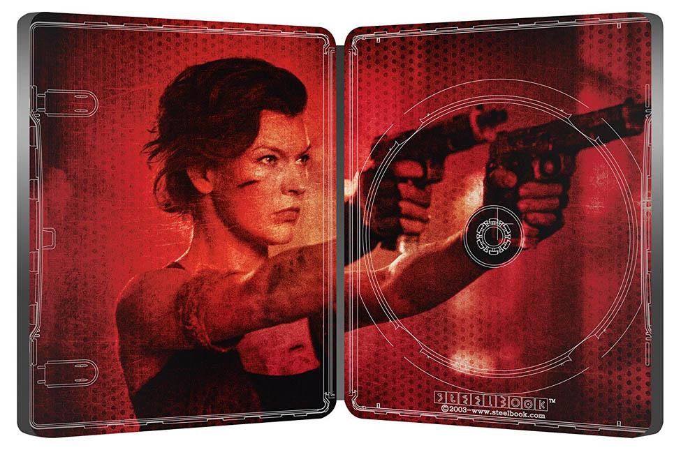 Resident Evil Final Chapter steelbook IT 5