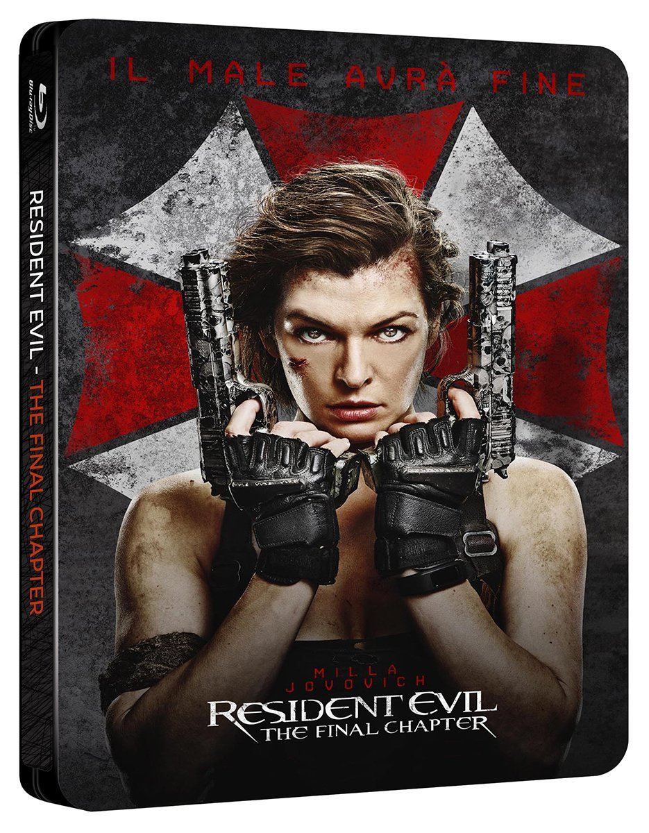 Resident Evil Final Chapter steelbook it