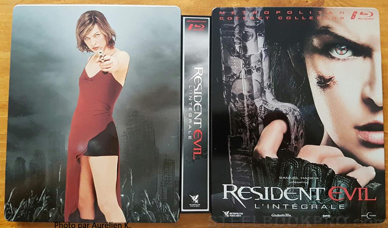 Resident-Evil-Intégrale-steelbook fr 4