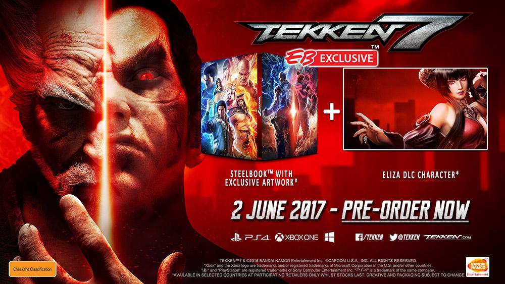 Tekken 7 steelbook