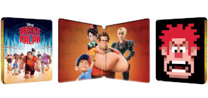 Wreck it Ralph steelbook zavvi 2