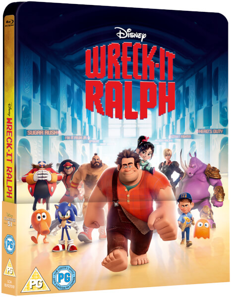 Wreck it Ralph steelbook zavvi