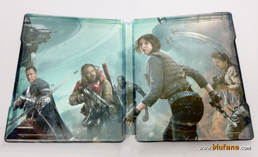 Rogue One steelbook blufans