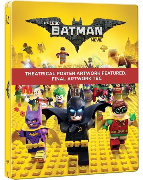 Lego batman steelbook