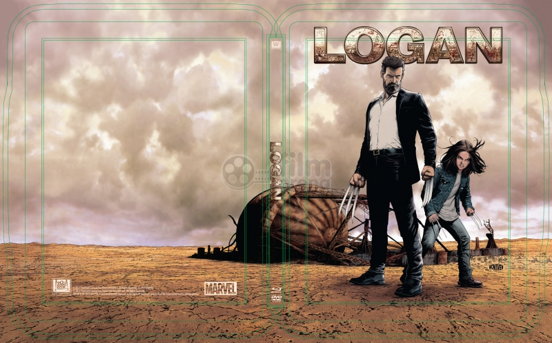 Logan steelbook popart 1