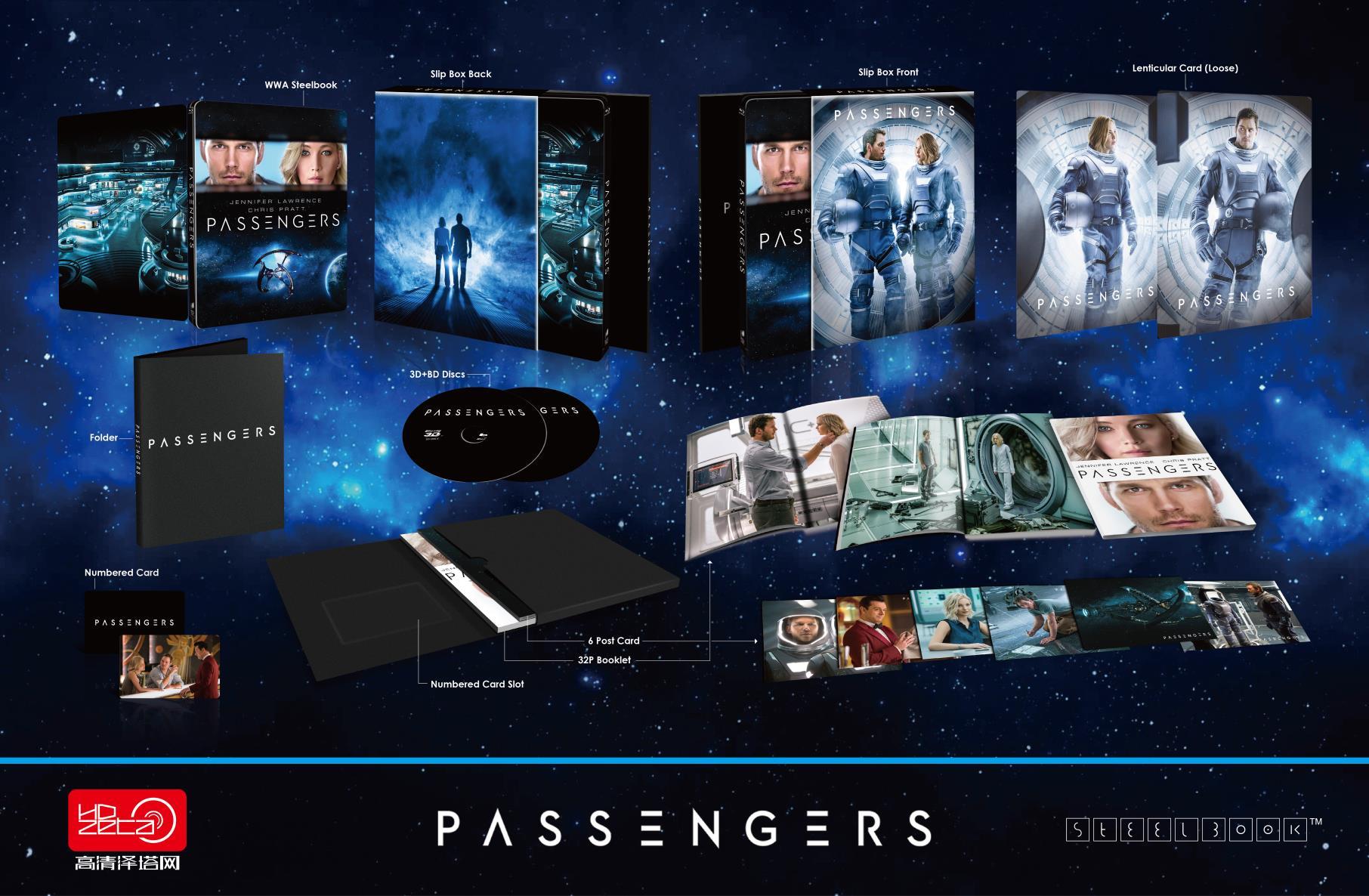 Passengers steelbook HDzeta