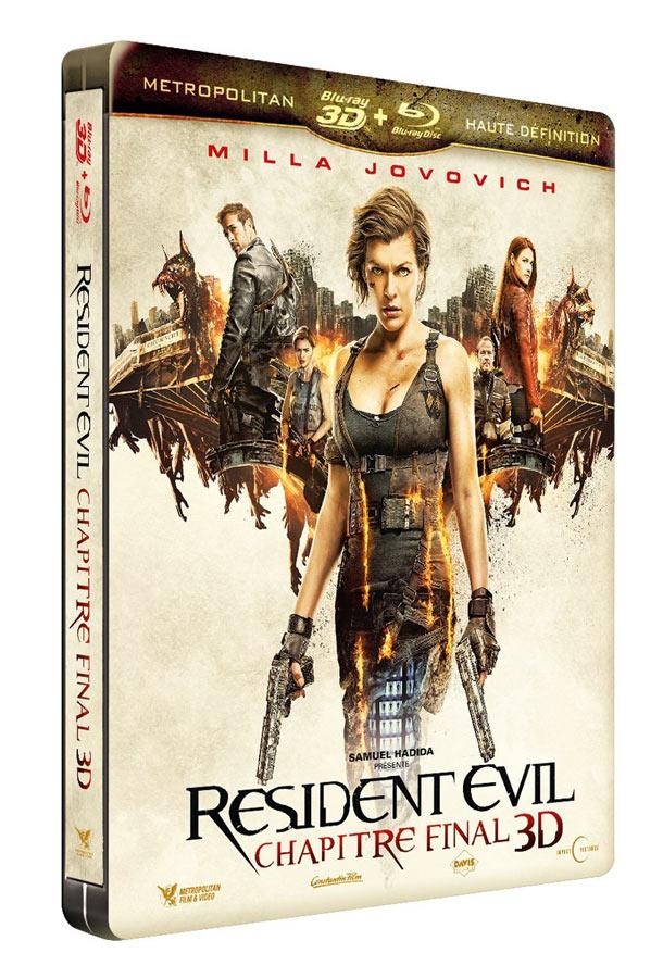 Resident-Evil-Chapitre-Final steelbook fr 2
