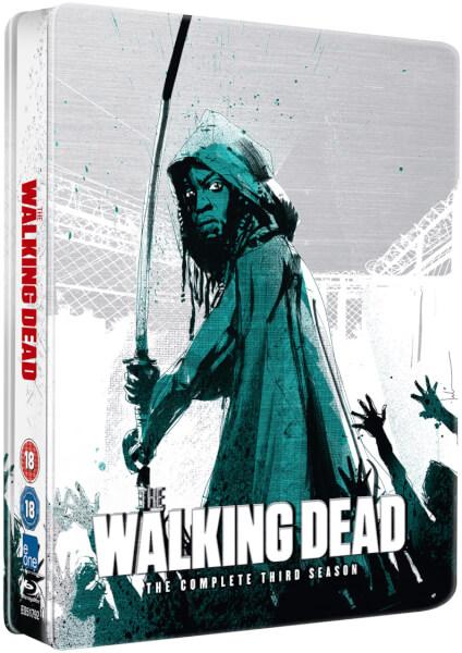 The Walking Dead Season 3 steelbook