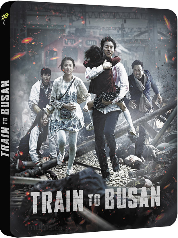 Train Busan steelbook ES