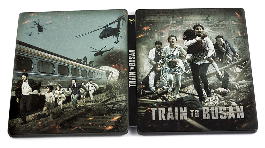 Train To Busan steelbook ES 1