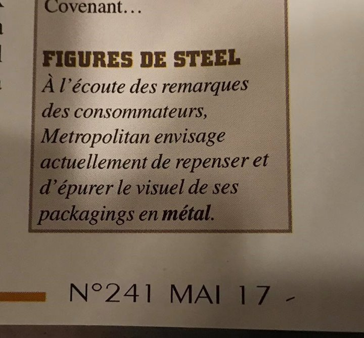 Années laser steelbook metropolitan