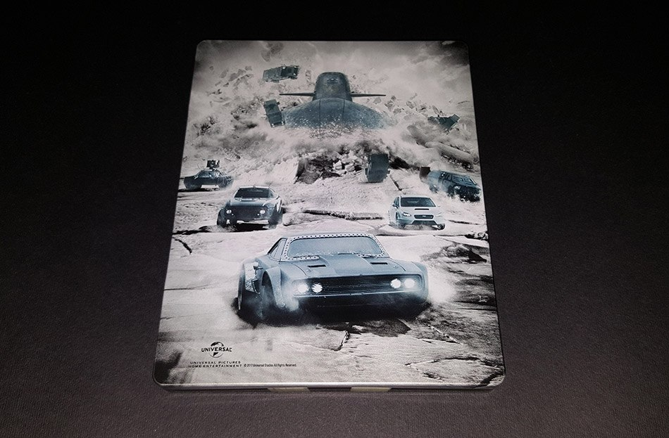 Fast and Furious 8 steelbook fr 2