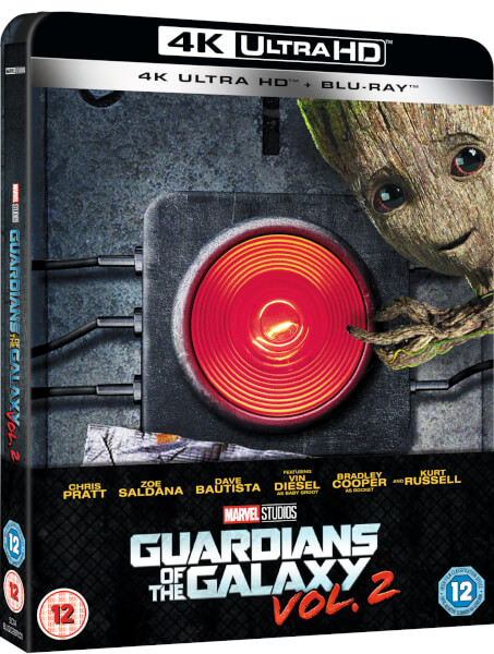 Guardien of the Galaxy Vol.2 steelbook 4K