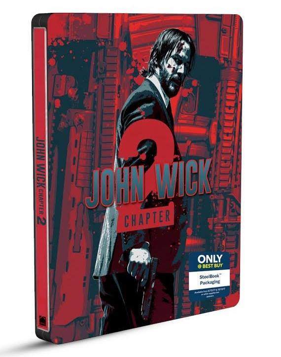 John Wick 2 steelbook bestbuy