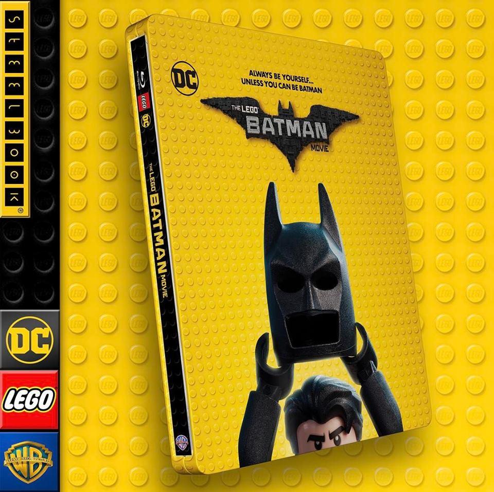 Lego Batman steelbook 1