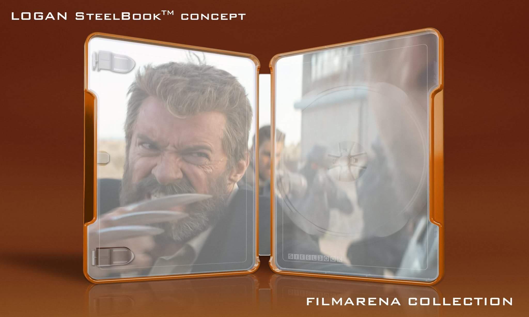 Logan steelbook filmarena 2
