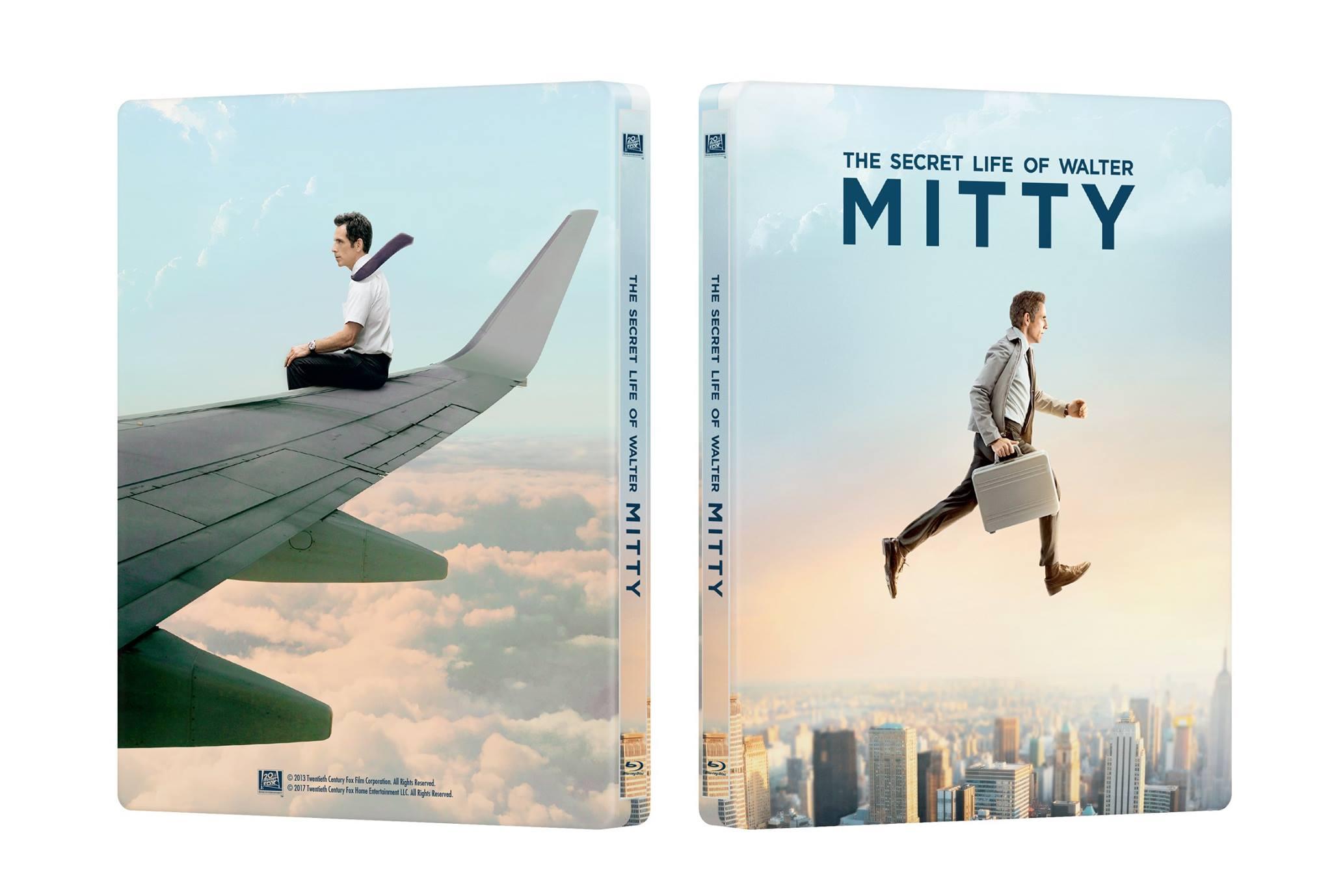 Secret Life Walter Mitty steelbook