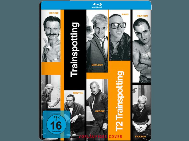Trainspotting---T2-Trainspotting-(2-Disc-SteelBook)---Exklusiv-[Blu-ray]
