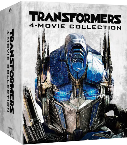 Transformers 1-4 Box Set steelbook