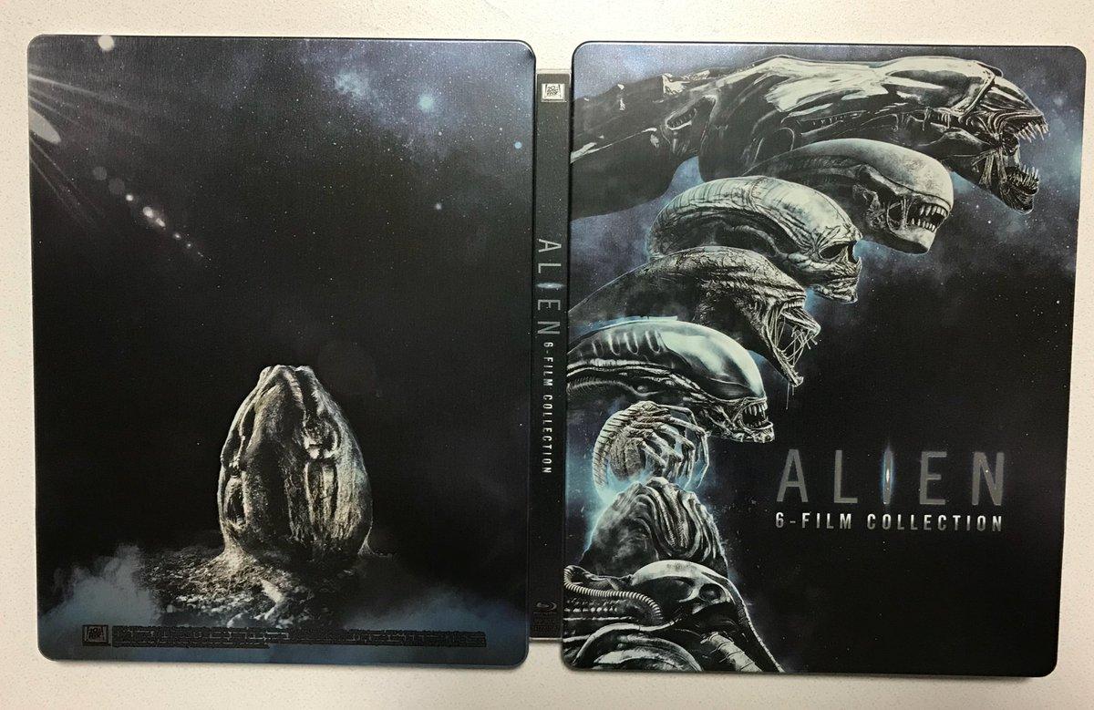 Alien 6 film collection steelbook 1